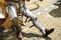 Knight's legs. Stock Photography