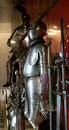 Knight's suits of armour Royalty Free Stock Photo