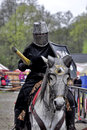Knight s tournament woman rider to Royalty Free Stock Photo