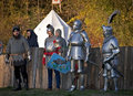 Knight's wars. Stock Photography
