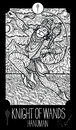 Knight of wands. Hanuman