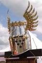 Knightly helmet Royalty Free Stock Photo