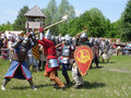 Knights tournament Royalty Free Stock Photo