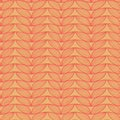 Knit linen doodle seamless pattern abstract vector resembles Stock Photo