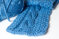 Knit scarf Stock Photos