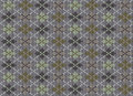 Knit texture. Gray background with ornament Royalty Free Stock Image