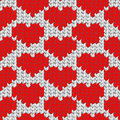 Knit texture, seamless pattern