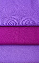 Knitted fabric natural fabrics bright colourful fabrics is background Stock Image