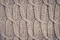 Knitted fabric wool texture close up Royalty Free Stock Photo