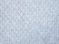 Knitted light gray cotton Royalty Free Stock Photo