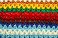 Knitted multicolored background Stock Images