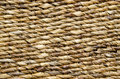 Knitted straw textured background old brown furniture detail Stock Image