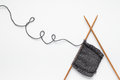 Knitting Fotografie Stock Libere da Diritti