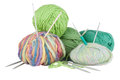 Knitting kit Stock Image