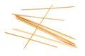 Knitting needles eight isolated on white background Stock Photo