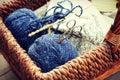Knitting Supplies Royalty Free Stock Photo