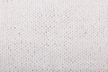 Knitting texture white color woolen of hand knitted closeup background Royalty Free Stock Images