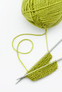 Knitting wool Royalty Free Stock Photo