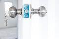 Knob locks Royalty Free Stock Photo