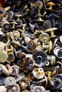 Knobs at flea market Royalty Free Stock Photo