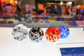 Knobs melt designs by plastic Royalty Free Stock Photos