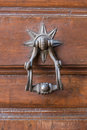 Knock door star Royalty Free Stock Photo