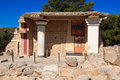 Knossos Minoan Palace Royalty Free Stock Photography