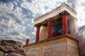 Knossos palace Royalty Free Stock Photo
