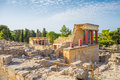 Knossos Palace ruin Royalty Free Stock Photo
