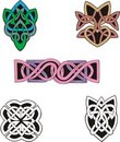 Knot Decoration Dingbats & Patterns Stock Photography