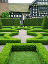 A knot garden Stock Images