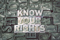 Know your rights met