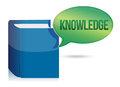 Knowledge book illustration Stock Photography