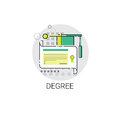 Knowledge Elearning Degree Education Online Icon