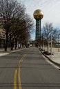 Knoxville tennessee worlds fair park sunsphere Royalty Free Stock Photo
