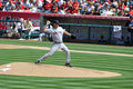 Knuckleballer Tim Wakefield. Royalty Free Stock Images