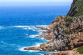 Knysna heads view of the south africa Royalty Free Stock Image