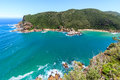Knysna heads view of the south africa Royalty Free Stock Photography