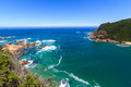 Knysna heads view of the south africa Stock Images