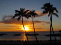 Ko Olina Sunset Royalty Free Stock Photography
