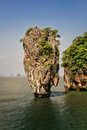 Ko tapu island thailand in phang nga bay james bond from the the man with the golden gun Stock Image