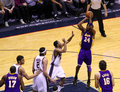 Kobe Bryant in the game against New Jersey Nets