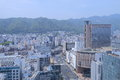 Kobe city view Japan Royalty Free Stock Photo