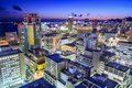 Kobe, Japan City Skyline Royalty Free Stock Photo