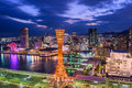 Kobe Japan Skyline Royalty Free Stock Photo