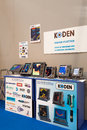 Koden Marine Electronics Products Stock Photography