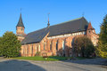 Koenigsberg cathedral in kaliningrad russia the morning Royalty Free Stock Photography