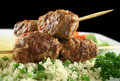 Koftas And Couscous 2 Stock Photography