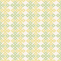 Kogin embroidery style. Abstract seamless pattern.
