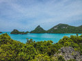 Koh ang thong marine park national thailand Royalty Free Stock Photography